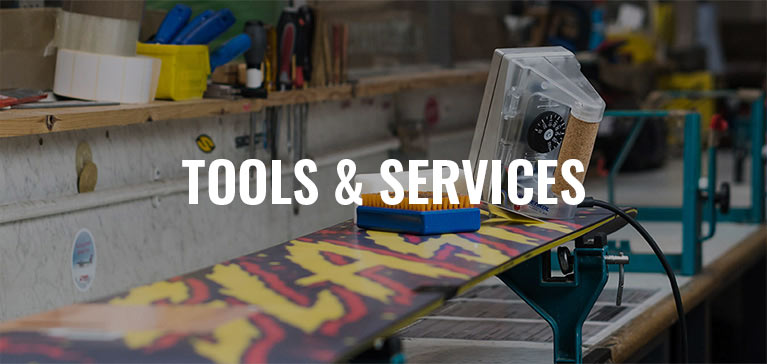 the snowboard asylum tool and servicing