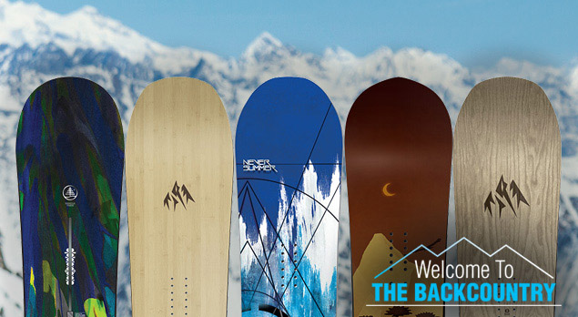 Our Top 5 Backcountry Snowboards Of 2016 2017