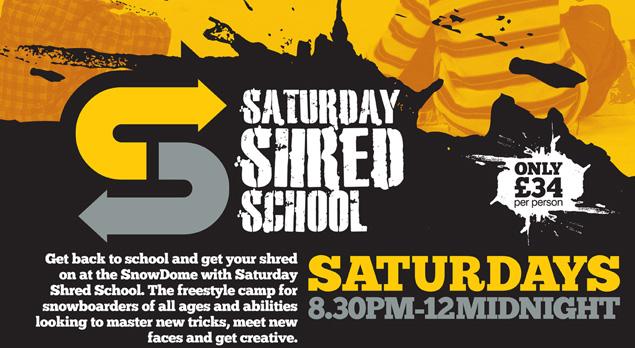 Shred School Tamworth SnowDome