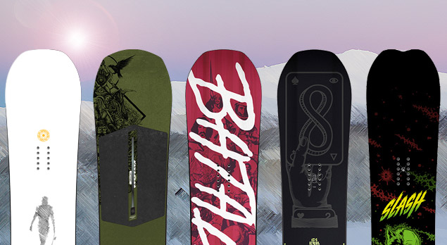 Top 5 Park Snowboards 2017