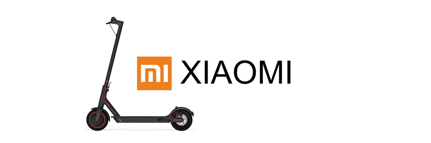 Xiaomi Scooter and Logo