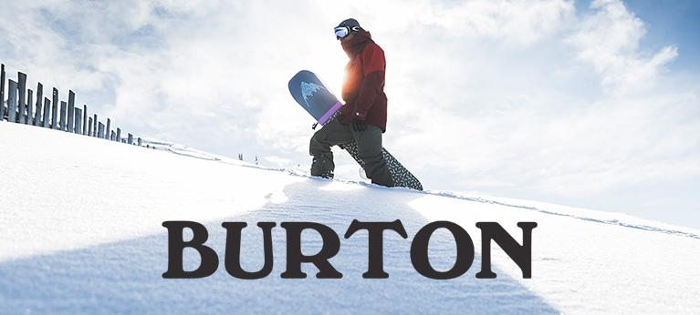 Man carrying Burton Snowboard
