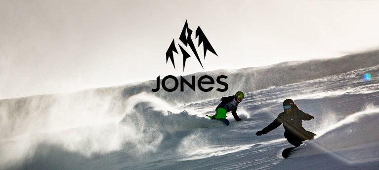 New Jones Snowboards