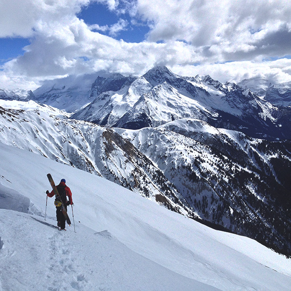 Splitboarding spirit of adventure