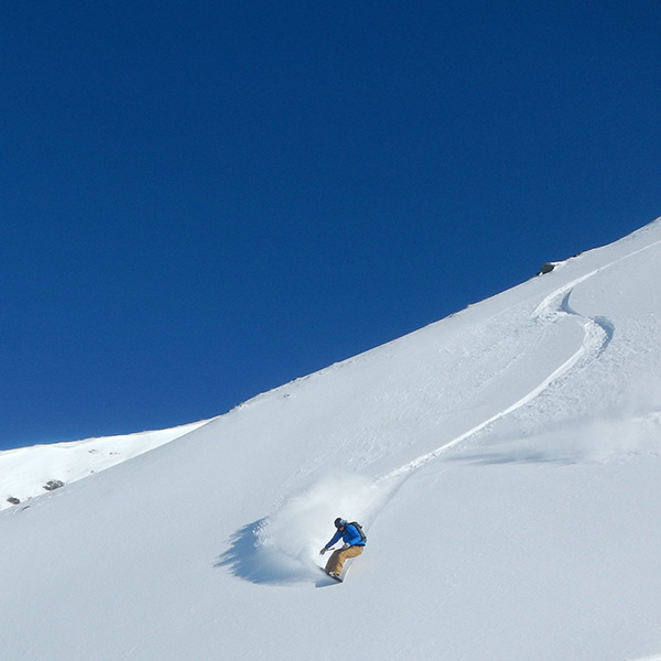 Splitboarding Earning Turns